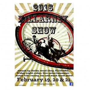 Killarney Show Poster