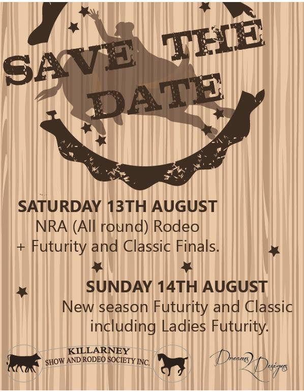 Save the Date NRA Rodeo