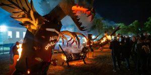 Metalwork Dragons